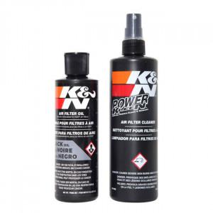 BLACK K&N FILTER KIT