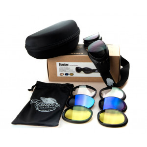 ICC BOMBER GLASSES WITH 4...