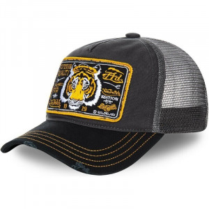 GORRA TRUCKER GREY TIGER -...