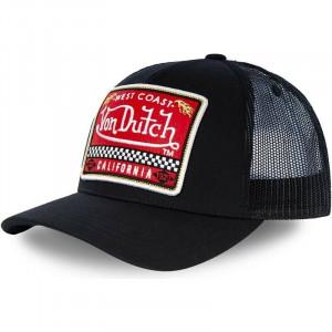 TRUCKER BLKA-VON DUTCH CAP