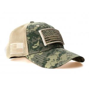 CAP TRUCK TACTICAL CAMO USA...
