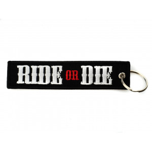 EMBROIDERED KEYCHAIN - RIDE...