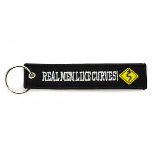 EMBROIDERED KEYCHAIN - REAL...