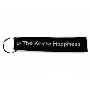 EMBROIDERED KEYCHAIN - THE...