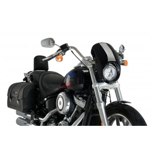 BLACK ARCHY DOME FOR HARLEY...