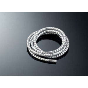CHROME CABLE COVER 10 MM