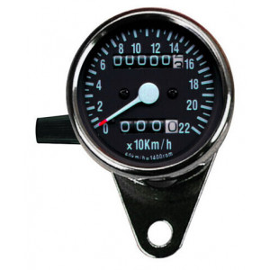 MINI ODOMETER WITH PARTIAL...