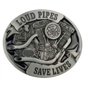 BUCKLE LOUD PIPES SAVE LIVES