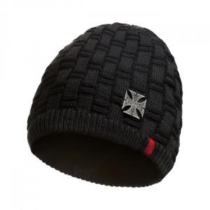 BLACK PATCH METAL CAP