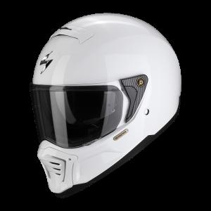 SCORPION EXO-HX1 HELMET WHITE