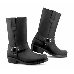 FALCO BIKER BLACK BOOTS