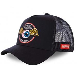 TRUCKER CAP BLK -VON DUTCH