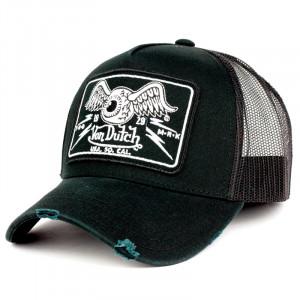 CAP VON DUTCH BLACK TRUCKER 07 WITH GRILLE