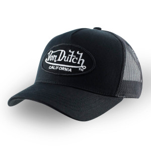 BLACK BASEBALL CAP - VON...