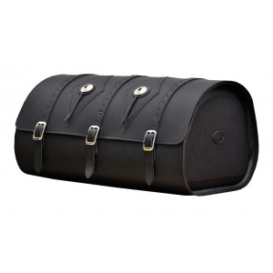 REINFORCED LEATHER TRUNK...