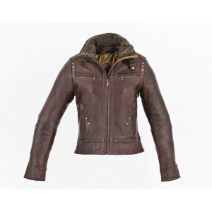 LADY BOMBER JACKET BROWN...