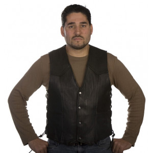 MEN'S BASIC SIDE LACE VEST