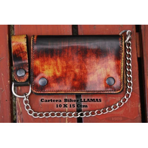 OLD-RAT CHAIN WALLET WITH...