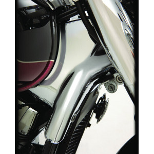 NECK COVERS CHROMED FITS...