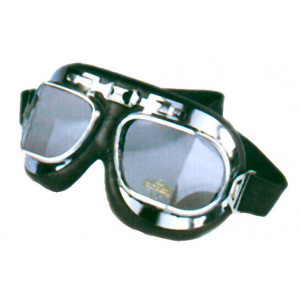 CHROMED RED BARON GOGGLES