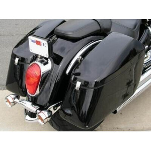 "CORNER"" HARD SADDLEBAGS..."