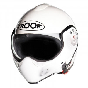 CASCO BOXER V8 BLANCO BRILLO