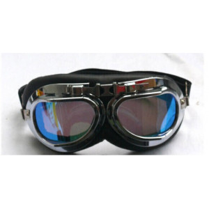 CHROMED RED BARON GOGGLES...