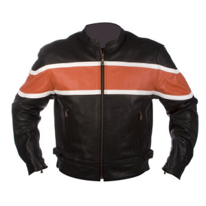 JACKET IN COW LEATHER...