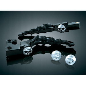 BLACK ZOMBIE LEVERS FITS HD...