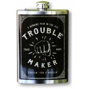 "TROUBLE MAKER"" FLASK"