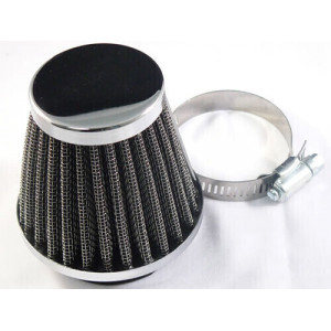 CONICAL POWER FILTER CHROME...