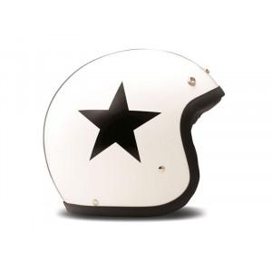 DMD VINTAGE STAR WHITE HELMET