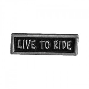 PIN LIVE TO RIDE