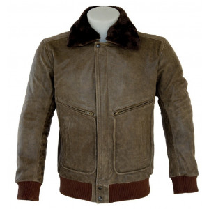 REAL LEATHER JACKET...