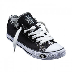 SHOES WARRIOR LOW-TOP BLACK...