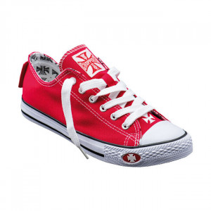 SHOES WARRIOR LOW-TOP RED WCC