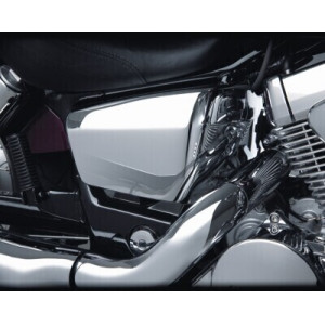 ABS CHROMED SIDE COVER FITS...