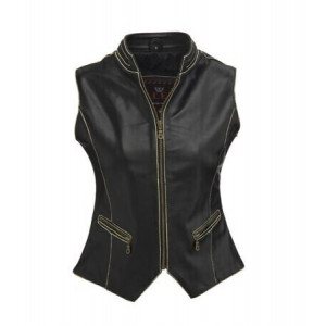 GIRL VEST NAPPA LEATHER...