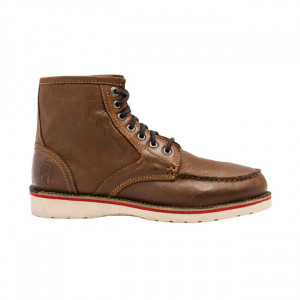 STURDY CLEAR BROWN BOOTS BY...