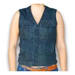 WOMEN'S VEST DENIM
