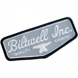 PATCH BILTWELL GREY SHIELD...