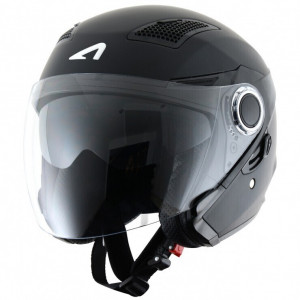 CASCO JET FIBRA DOBLE VISOR...