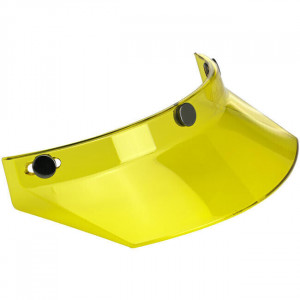 YELLOW MOTORCYCLE VISOR FOR...