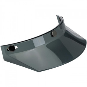 SMOKED MOTORCYCLE VISOR FOR...