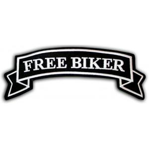 FREE BIKER PATCH 10 X 3...