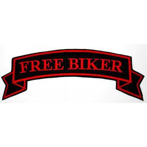 PARCHE PEQUEÑO FREE BIKER...