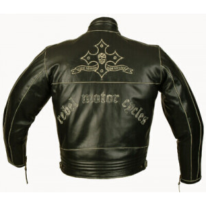 REBEL LEATHER JACKET FOR MEN