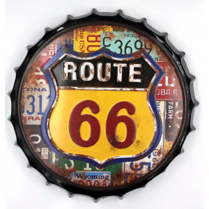 """TIN SING """"ROUTE 66 COLORS""""..."""