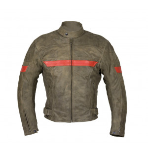JACKET IN AGED LEATHER...