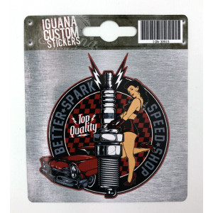 BETTER SPARK  DECAL 75 X 75 MM